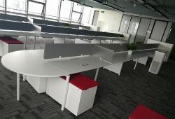 开放式办公桌定制个性化设计
