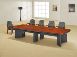 十人位实木会议桌经典设计