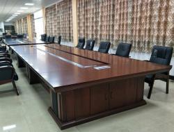 506大型实木会议桌设计高档大气