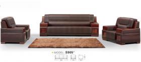 长红经典办公沙发实木框架