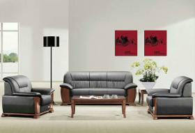 复古办公沙发优质海绵舒适透气