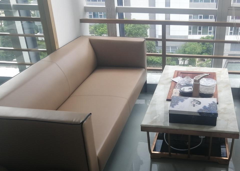 办公沙发与茶几